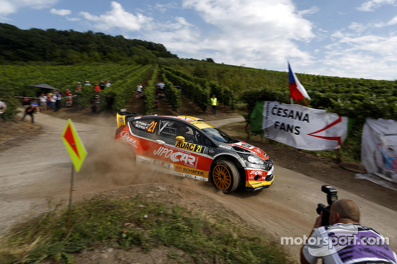 Martin Prokop, Michal Ernst, Ford Fiesta WRC Jipocar Czech National Team