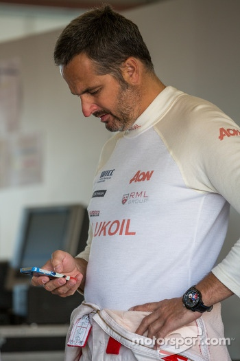 Yvan Muller before saturday practice