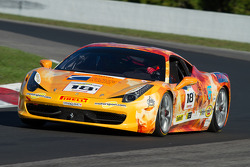 #18 The Auto Gallery Ferrari 458: James Weiland