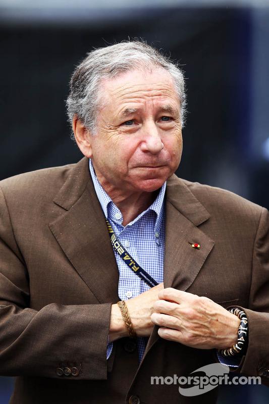 Jean Todt, FIA President at Italian GP