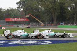 Lewis Hamilton, Mercedes AMG F1 W04, Nico Rosberg, Mercedes AMG F1 W04