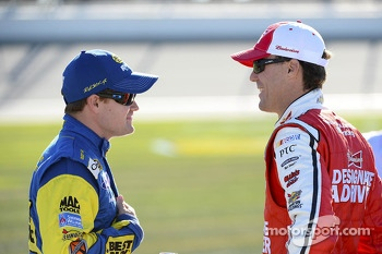 Ricky Stenhouse Jr. and Kevin Harvick
