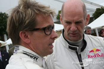 Kenny Brack and Adrian Newey