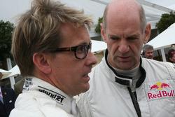 Kenny Brack and Adrian Newey