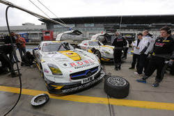 Jan Seyffarth, Nico Bastian, Rowe Racing, Mercedes-Benz SLS AMG GT3