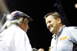 Jackie Stewart, with Paul Hembery, Pirelli Motorsport Director