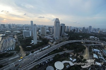Marussia F1 Team MR02 from the Singapore Flyer