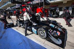 Pit stop for #551 Level 5 Motorsports HPD ARX-03b HPD: Scott Tucker, Ryan Briscoe