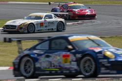 #52 Okinawa-Im Racing with Shift Mercedes SLS AMG GT3: Hironori Takeuchi, Takeshi Tsutchiya, Motoyoshi Yoshida