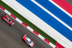 #44 Flying Lizard Motorsports Porsche 911 GT3 Cup: Seth Neiman, Dion von Moltke, #18 Performance Tech Oreca FLM09 Oreca: Charlie Shears, Tristan Nunez