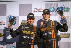 Race and championship winners Max Angelelli, Jordan Taylor