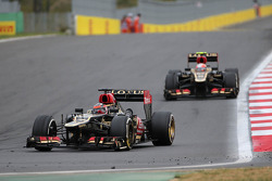 Kimi Raikkonen, Lotus F1 Team and Romain Grosjean, Lotus F1 Team