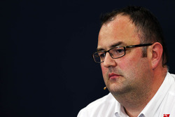 Tom McCullough, Sauber F1 Team Head of Track Engineering in the FIA Press Conference