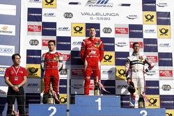 Podium: 1st Raffaele Marciello, 2nd Luis Derani, 3rd Alexander Sims