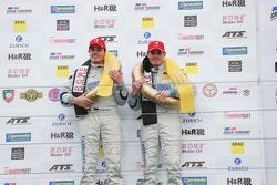 Marc Busch, Dennis Busch, TwinBusch Motorsport, Audi R8 LMS ultra, Overall Winners