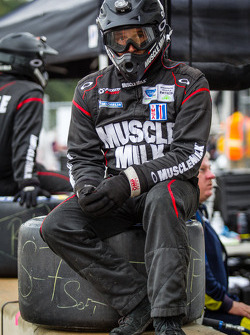 Muscle Milk Pickett Racing team member