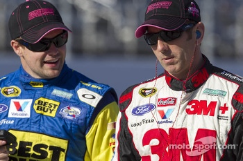 Greg Biffle and Ricky Stenhouse Jr.