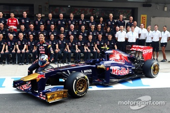 Toro Rosso team photoshoot