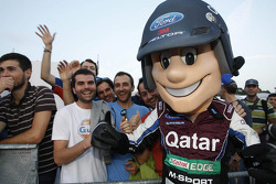 The M-Sport World Rally Team mascot