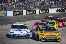 Casey Mears and Marcos Ambrose