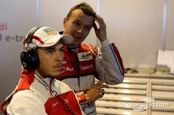 Andre Lotterer and Marcel Fässler