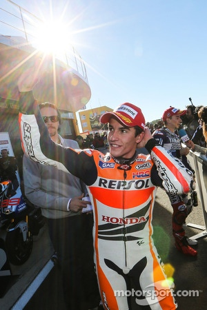 Marc Marquez, the new MotoGP World Champion