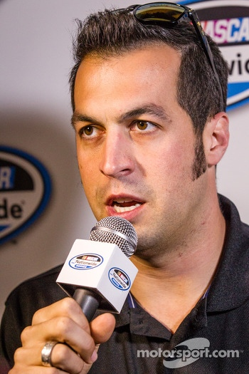 Championship contenders press conference: Sam Hornish Jr.