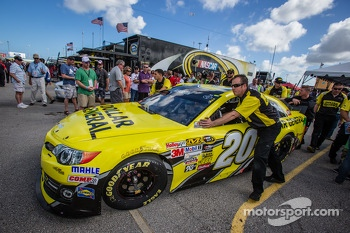 Joe Gibbs Racing Toyota of Matt Kenseth at tech inspection