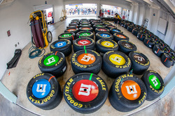 Goodyear tires for Kyle Busch, Joe Gibbs Racing Toyota