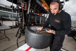 NGT Motorsport team member at work