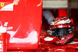 The helmet of Felipe Massa, Ferrari