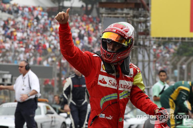 Felipe Massa, Ferrari in parc ferme