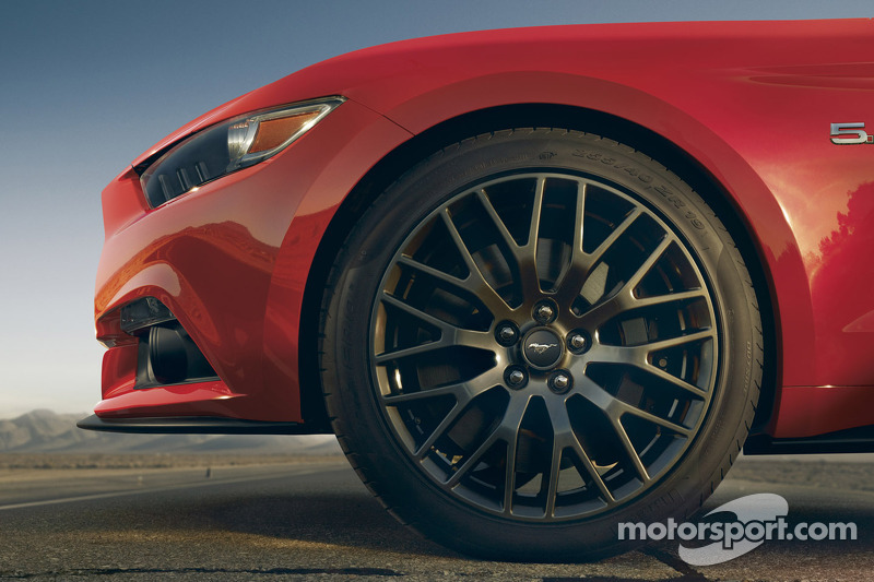 The 2015 Ford Mustang GT