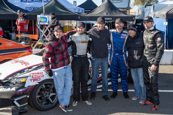 Class winners #79 N1 Racing 2 Lexus IS250: Kai Goddard, Alan McCallum, Mark McManus, David Smith, Michael Whelden