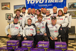 Class winners #18 Luxury: Don't Crash Racing Ford Mustang Boss 302S: Tom Brown, Thomas Martin, Brian Zander