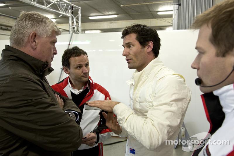 Mark Webber tests the Porsche LMP1 at Portimao