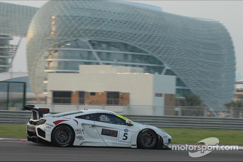 #5 MRS GT-Racing McLaren MP4-12C GT3: Oliver Webb, Felix Serralles, Siegfried Venema