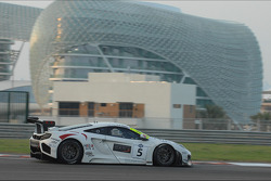 #5 MRS GT-Racing McLaren MP4-12C GT3: Oliver Webb, Felix Serralles, Siegfried Venema