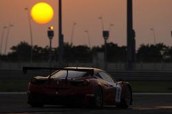 #1 AF Corse Ferrari 458 GT3: Steve Wyatt, Michele Rugolo, Marco Cioci