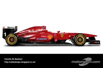Retro F1 car - Ferrari 1996