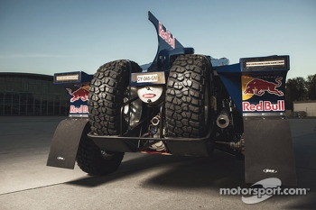 The SMG Buggy to be driven by Carlos Sainz and Ronan Chabot