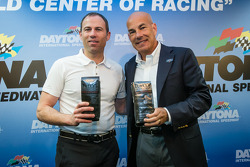 IMSA partnership press conference: Tully's Chairman Michael Avenatti and IMSA President Scott Atherton