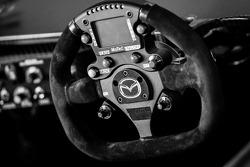 Steering wheel of SpeedSource Mazda