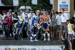 Cyril Despres and Marc Coma