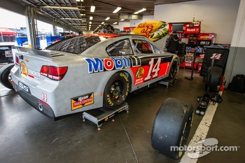 Car of Mark Martin, Stewart-Haas Racing Chevrolet