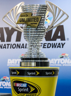 The Sprint Unlimited at Daytona champion trophy