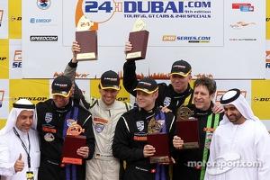 Podium: race winners Mark Ineichen, Rolf Ineichen, Marcel Matter, Adrian Amstutz, Christian Engelhart
