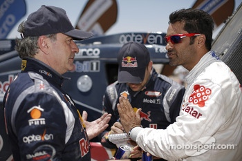 Carlos Sainz and Nasser Al-Attiyah