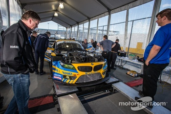 #94 Turner Motorsport BMW Z4 BMW at technical inspection