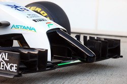 Sahara Force India F1 VJM07 front wing and nosecone